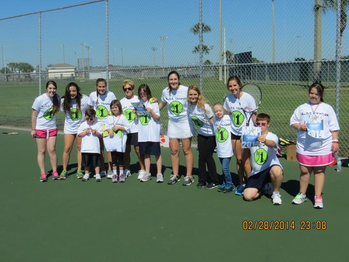 Buds Tennis!  T-Shirt Photo