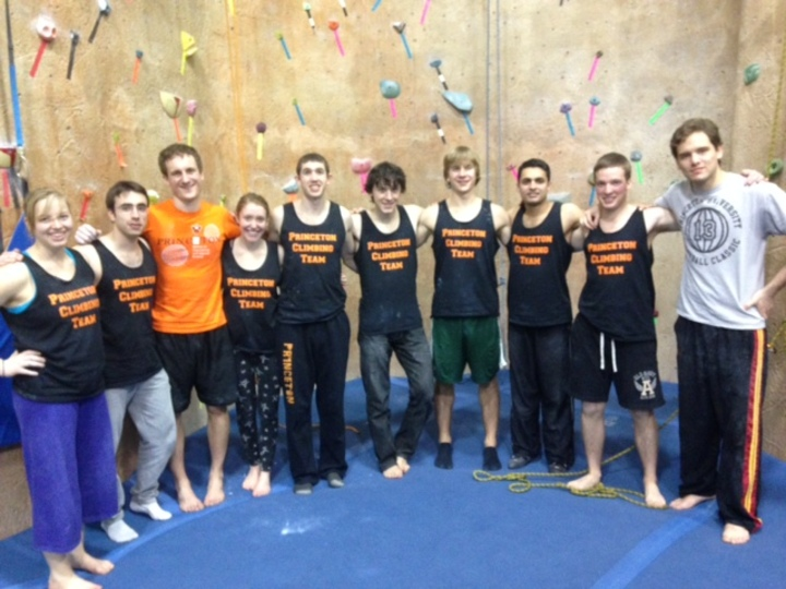 Princeton Climbing Team T-Shirt Photo