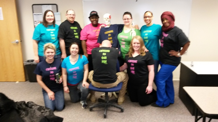 Nau Nursing Students T-Shirt Photo