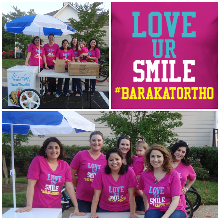 Love Ur Smile #Barakat Ortho T-Shirt Photo