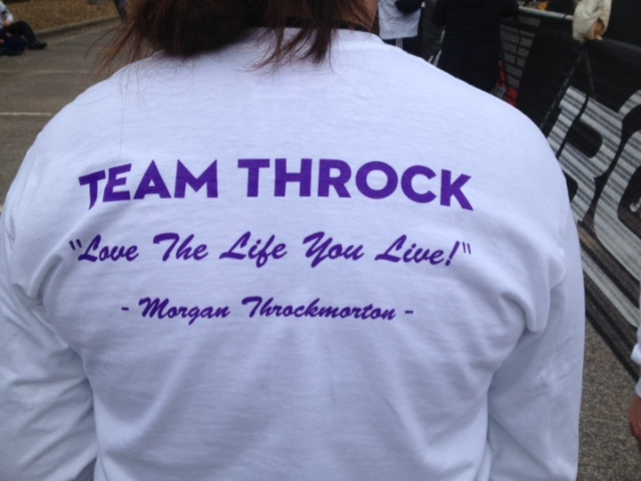 Team Throck   Get Your Rear In Gear 2014 T-Shirt Photo