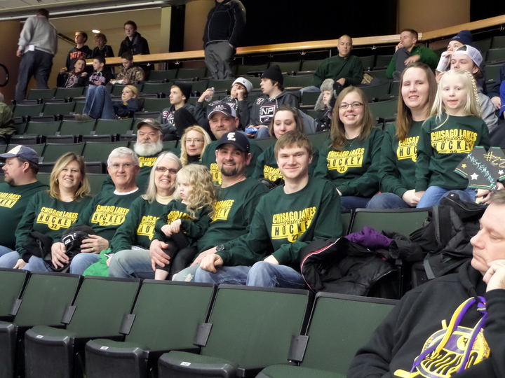 State Hockey Tournament Family T-Shirt Photo