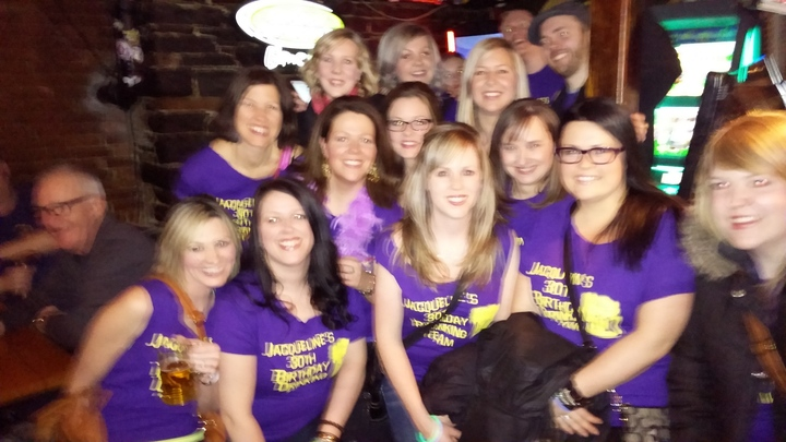 30th Birthday Pubcrawl T-Shirt Photo