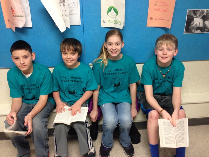 Battle Of The Books  T-Shirt Photo