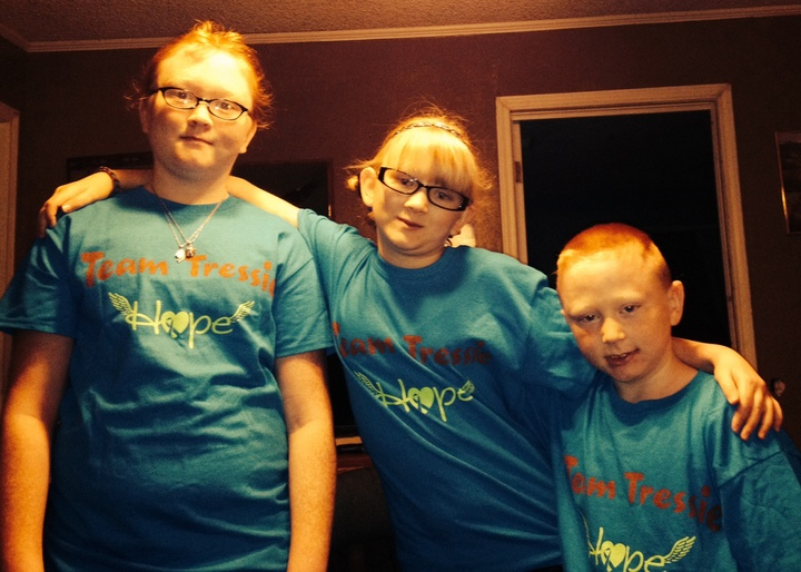 Go Team Tressie T-Shirt Photo