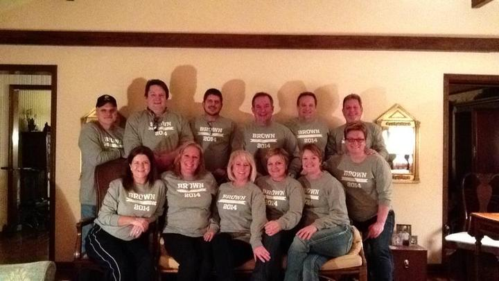 Brown Cousins Night 2014 T-Shirt Photo