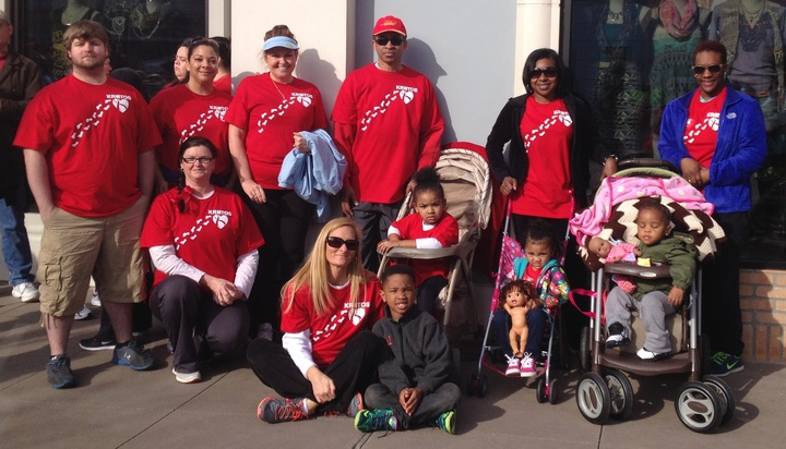 2014 Heart Walk Team Kratos T-Shirt Photo