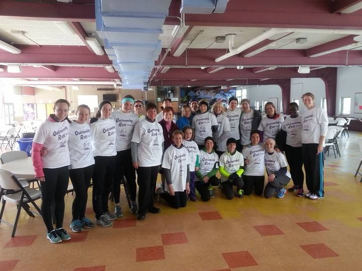Team Rett: Outrunning Rett 5k T-Shirt Photo