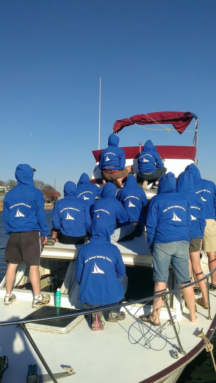 Sea Scouts At The Lake Ready To Cruise In New Hoodie! T-Shirt Photo