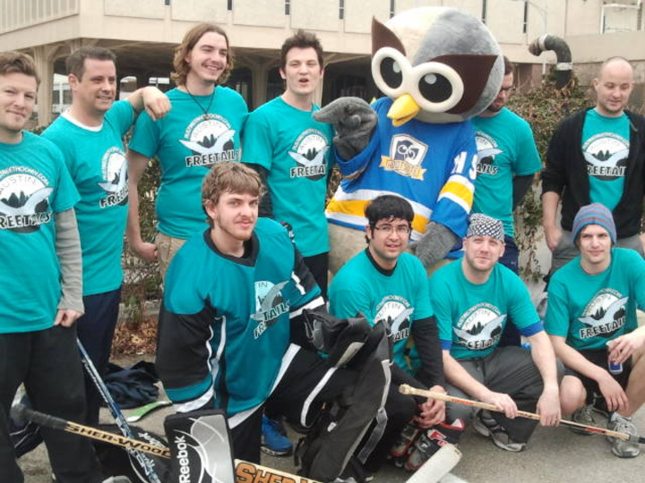 Austin Freetails Street Hockey Team T-Shirt Photo