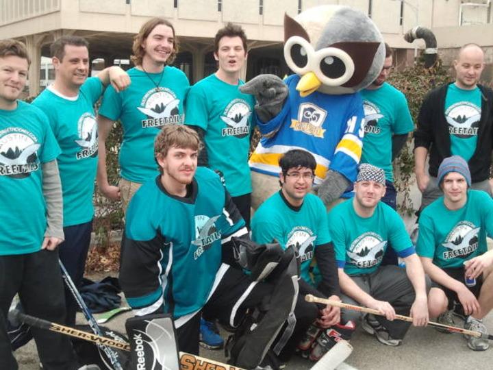 Austin Freetails Street Hockey Team T-Shirt Photo