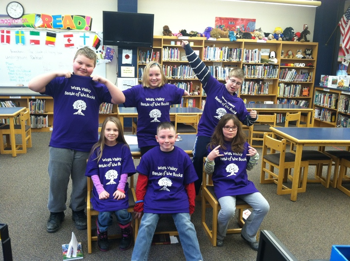 West Valley Battle Of The Books T-Shirt Photo