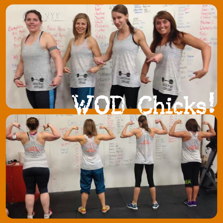 Wod Chicks T-Shirt Photo