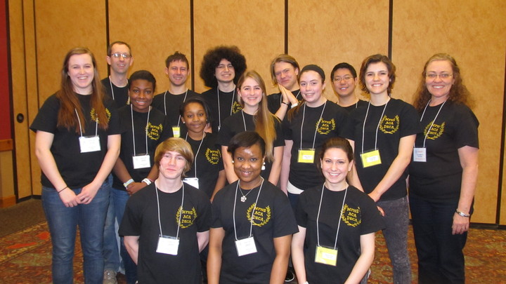 Mfhs Academic Decathlon At The State Competition, March, 2014 T-Shirt Photo