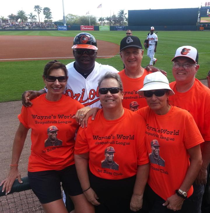 Wayne's World!  1st Base Fan Club T-Shirt Photo