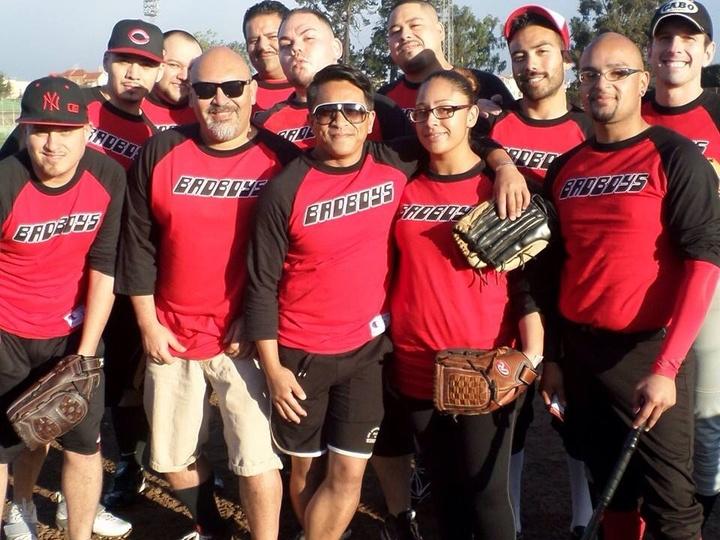 Sf Bad Boys Softball Team T-Shirt Photo