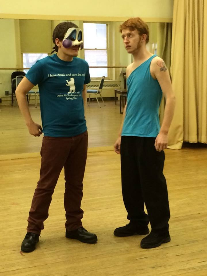 Rehearsing In The New Show Shirts! T-Shirt Photo