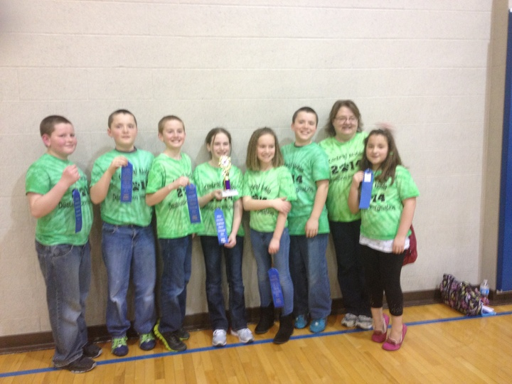 1st Place Indiana Regional Destination Imagination T-Shirt Photo