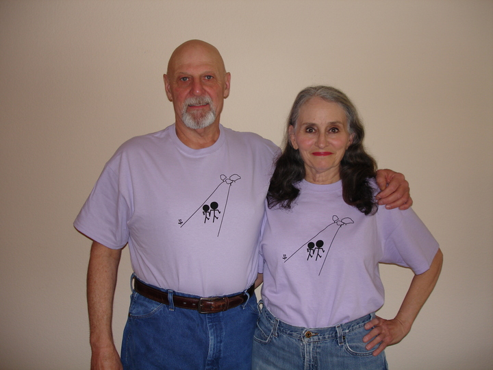 Recovering From Breast Cancer Together T-Shirt Photo