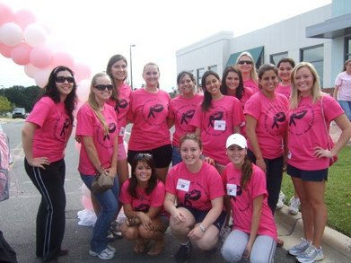 Making Strides Against Breast Cancer 2007 T-Shirt Photo