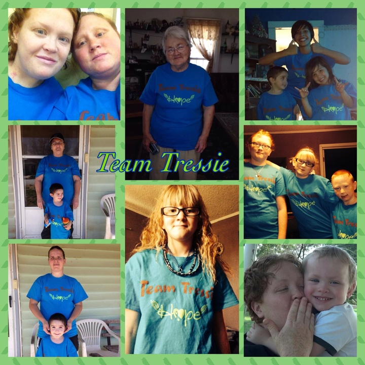 Team Tressie T-Shirt Photo
