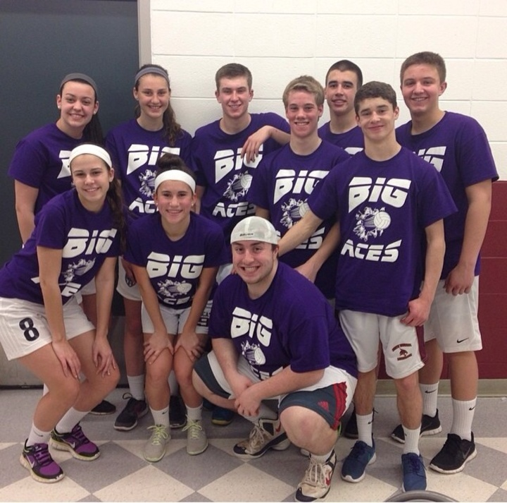 Over Night Volleyball Tournament! T-Shirt Photo