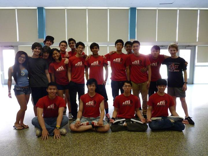 Break Dancing Club T-Shirt Photo