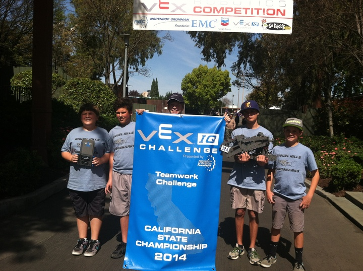 Vex Iq Robotics California State Champions T-Shirt Photo
