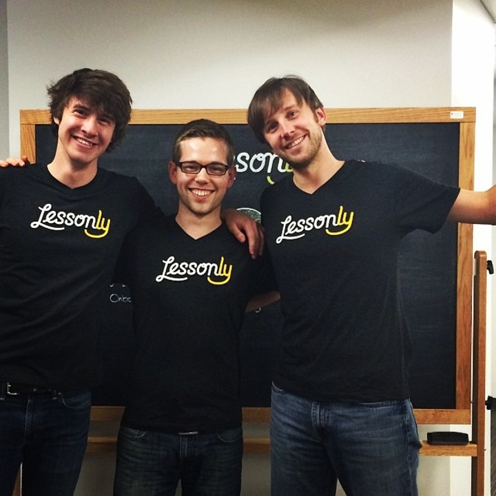 Lesson.Ly Trio + Ghost T-Shirt Photo