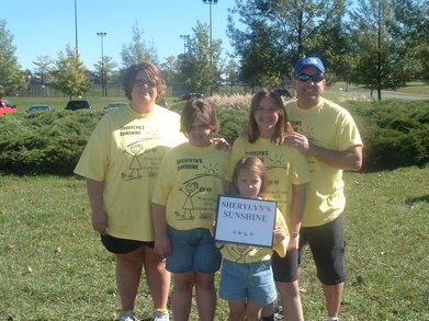 Walking For A Cure For Juvenile Diabetes T-Shirt Photo