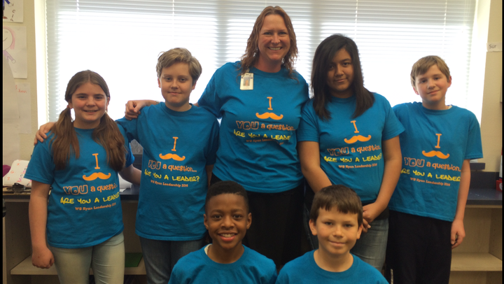 Ws Ryan Elementary Leadership Team T-Shirt Photo