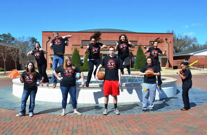 Custom Ink Makes Kappa Psi Jump For Joy!  T-Shirt Photo