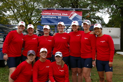 Spiffy Rowers At The Head Of The Charles In Boston T-Shirt Photo