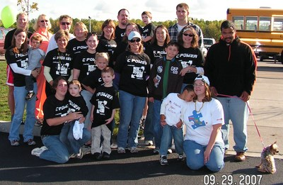 Walk Now For Autism T-Shirt Photo