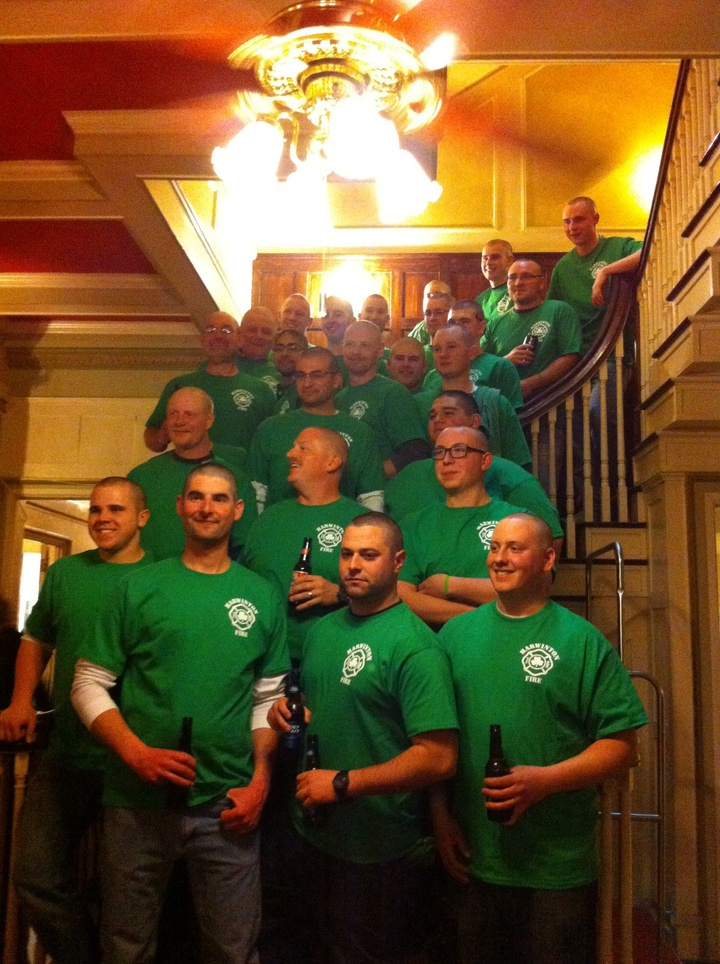 St Baldricks 2014 Harwinton Firefighters T-Shirt Photo