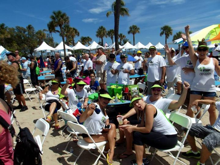 Php Crusaders At Florida Aids Walk! T-Shirt Photo