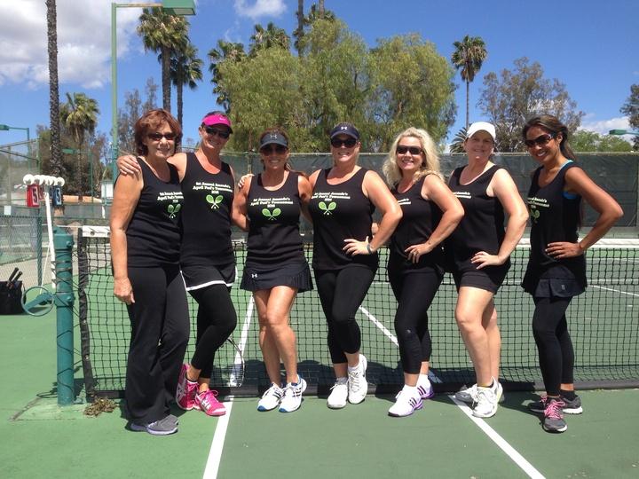 April Fools Birthday Tennis Tournament  T-Shirt Photo
