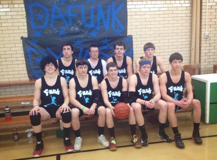 Funk Legends At A Basketball Tournament T-Shirt Photo