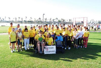 Team Desmond San Diego Als Walk 2007 T-Shirt Photo