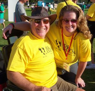 San Diego Als Walk 2007 T-Shirt Photo