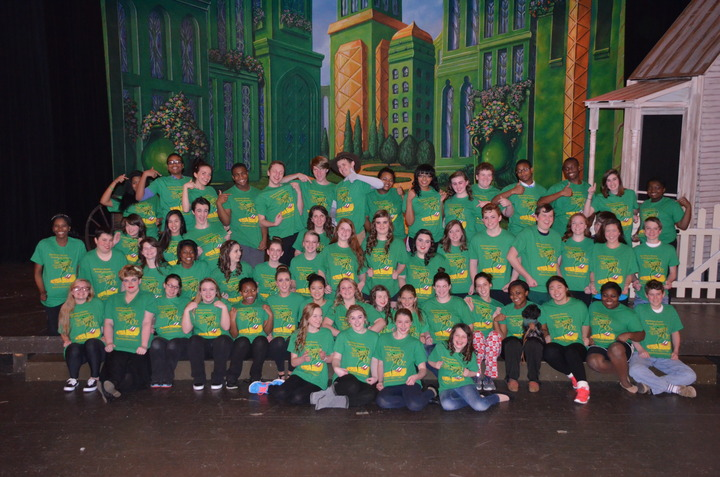 Our Emerald Cast In The Emerald City T-Shirt Photo