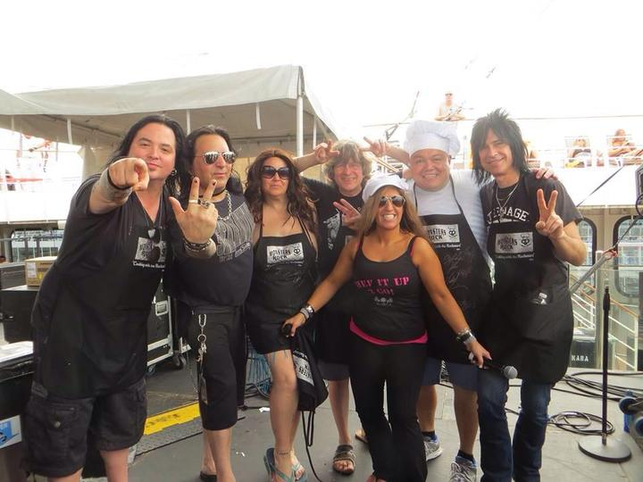 Cooking With The Rockstars! T-Shirt Photo