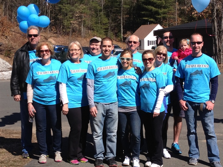 Ms Walk 2014 Team Tiebreakers T-Shirt Photo