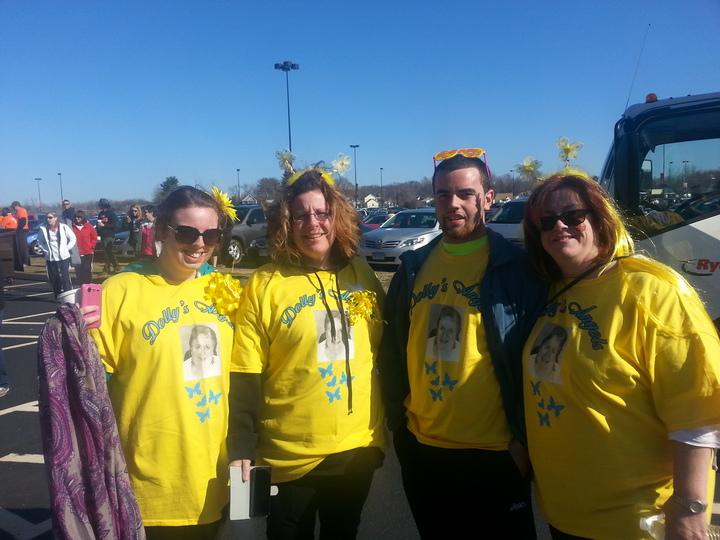 Ms Walk, East Hartford, Rentschler Field, April 6, 2014 T-Shirt Photo