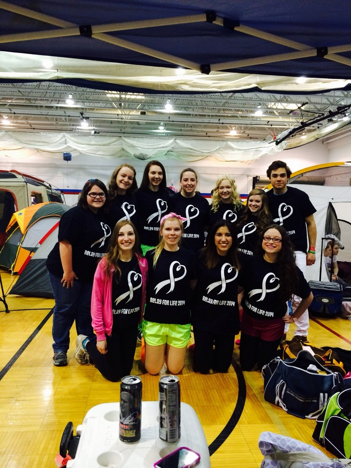 Neon Warriors  Relay For Life 2014 T-Shirt Photo