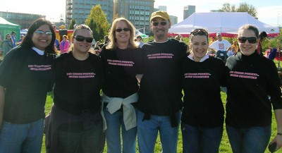 Walk For Diabetes Team Photo T-Shirt Photo