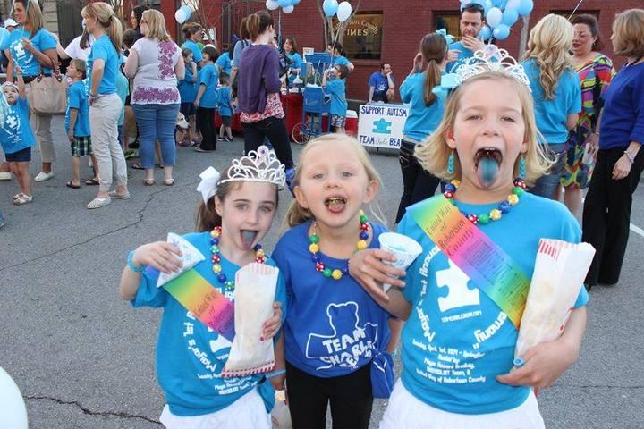"Mayor's 1st Annual ""Light It Up Blue Ceremony"" T-Shirt Photo"