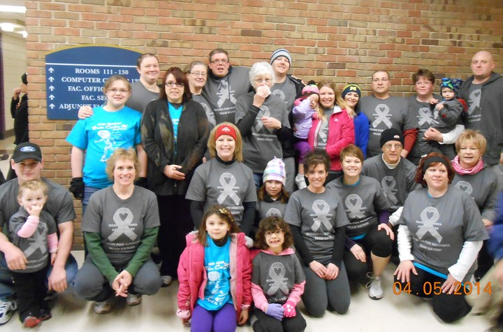Glioblastoma Awareness...Team Kathy! T-Shirt Photo