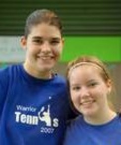Do Dds European Girls Tennis Doubles Champs 2007 T-Shirt Photo