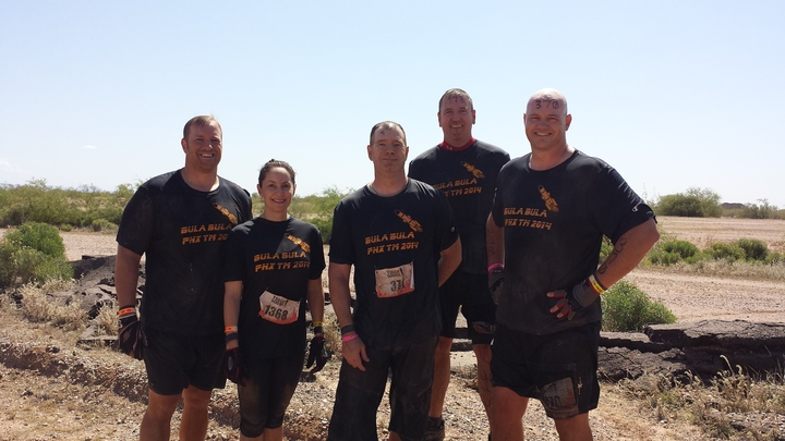 Tough And Muddy! T-Shirt Photo